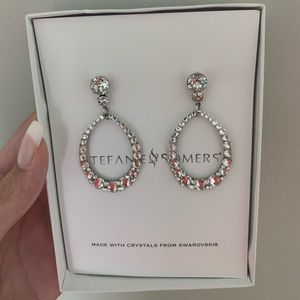 Stephanie and somer's crystal earrings